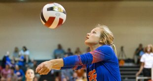 Madison Central played Brandon in a volleyball match at Brandon High School on Monday, August 8, 2016. Photo by Keith Warren