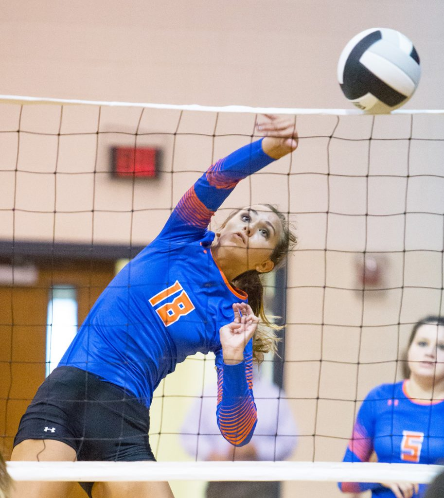 Madison Central and Brandon played a volleyball match Monday. For more photos, please visit our photo web site at misshsaa.smugmug.com
