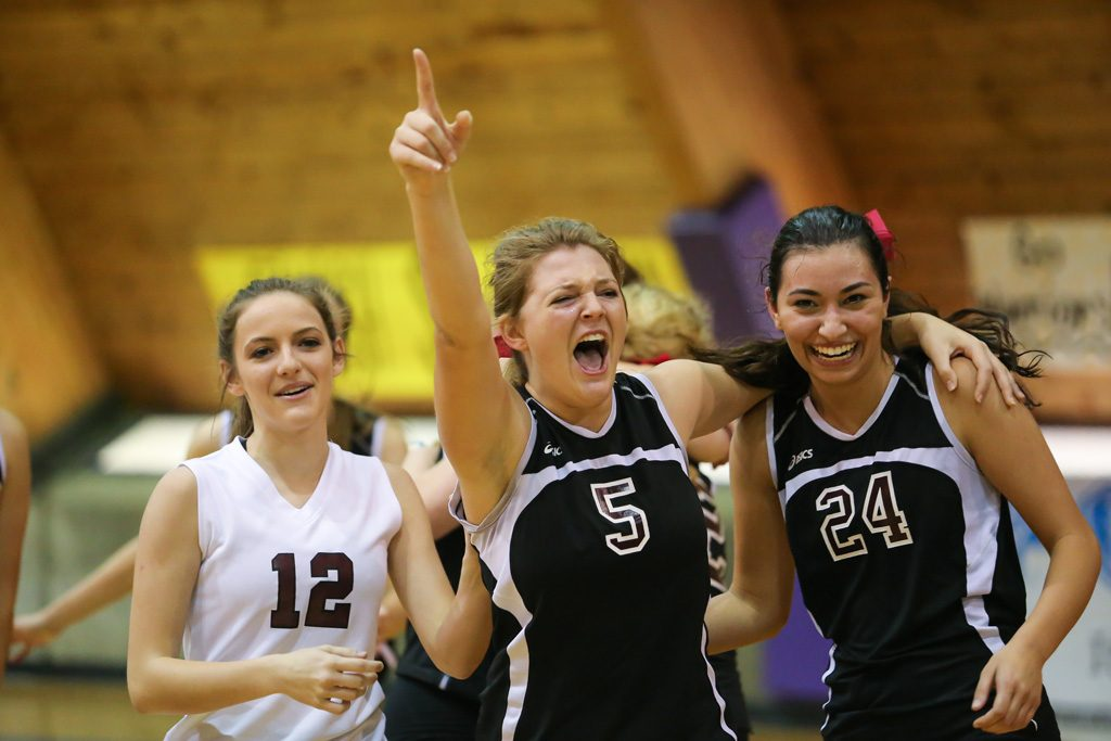The 2016 MHSAA Volleyball Championships were held  Saturday, October 27, 2016 at Millsaps College in Jackson. Photo by Keith Warren