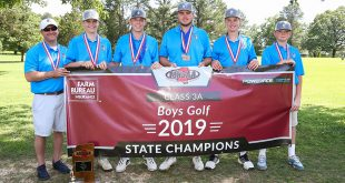 2019 MHSAA 3A Boys Golf Champions
